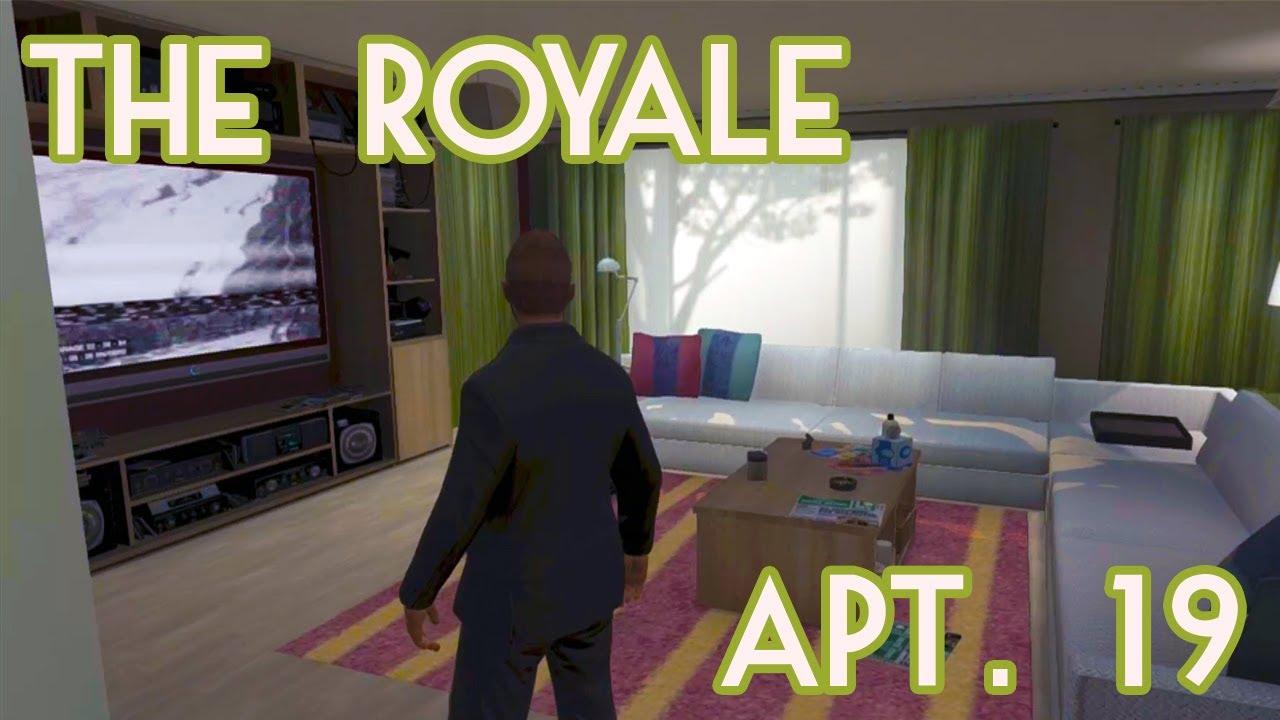 HD GTA V Online  Property Tour  Royale Apartment 19
