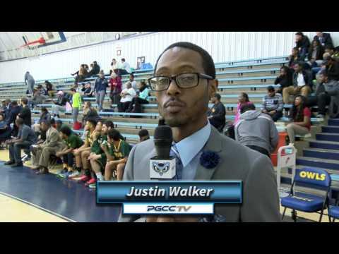 PGCC Men's Basketball vs NOVA: 02/15/17
