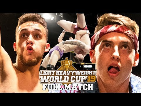 FULL MATCH — A-Kid vs. Justin Wylde (Spain against Hungary): GWF Light Heavyweight World Cup 2019