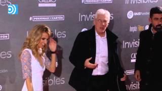 Richard Gere posa con su novia española Alejandra Silva en Madrid