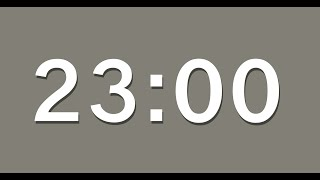 23 Minute Countdown Timer with Alarm   23 Minute Timer