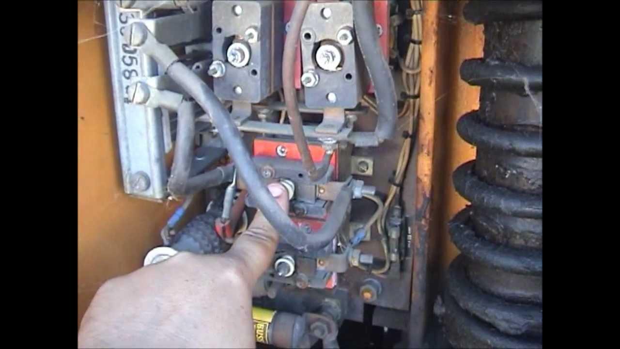 Big Joe Part 1  Electric forklift RepairAutopsy if dead