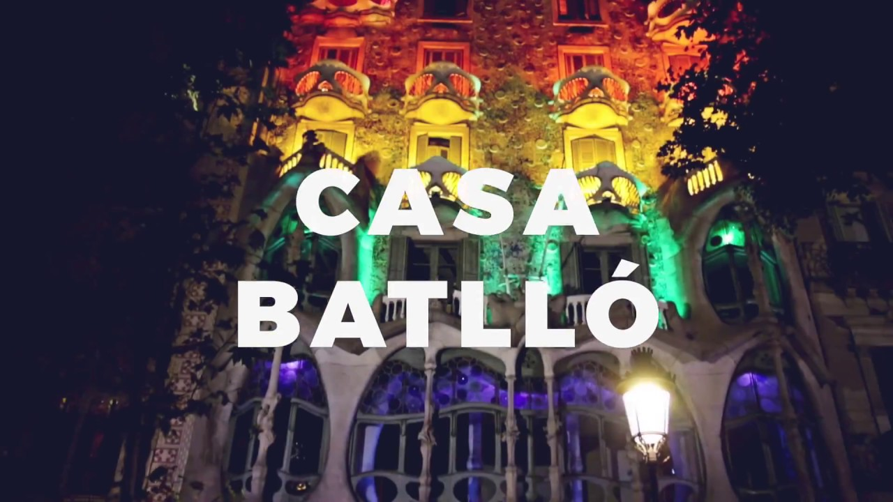 10182b520f Let s love - Casa Batlló joins the Pride BCN demonstration - YouTube