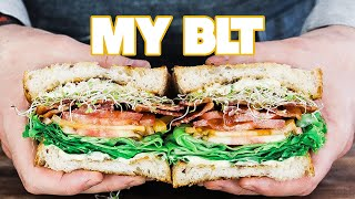 The Ultimate Homemade BLT Sandwich Recipe Asiago Basil Aioli