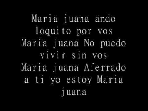 Maria Juana - Laberinto Letra.wmv