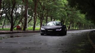 Audi R8 Wrapped in Matte Black by Manjar8Design