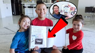 PREGNANCY ANNOUNCEMENT TO OUR KIDS!! **special moment**