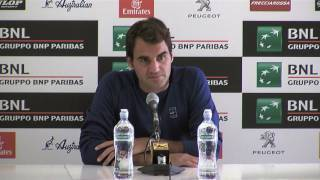 Press Conference Roger Federer: Round 2 Federer defeats Zverev 6-3 7-5