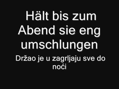 Rammstein - Liese Serbian lyrics