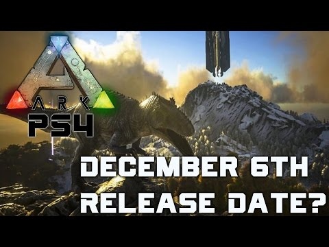 ark game ps4 release date