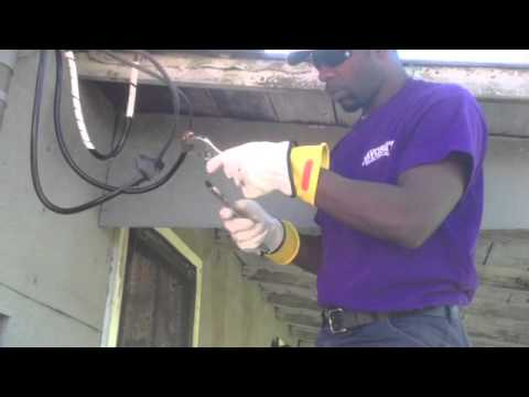 Upgraded residential 200 amp service youtube upgraded residential 200 amp service greentooth Gallery