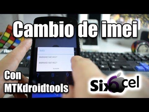Reparación/cambio De Imei Con MTK Droid Tools