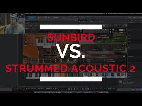 Acoustic Samples Sunbird Guitar Vs Strummed Acoustic 2 by Native Instruments!