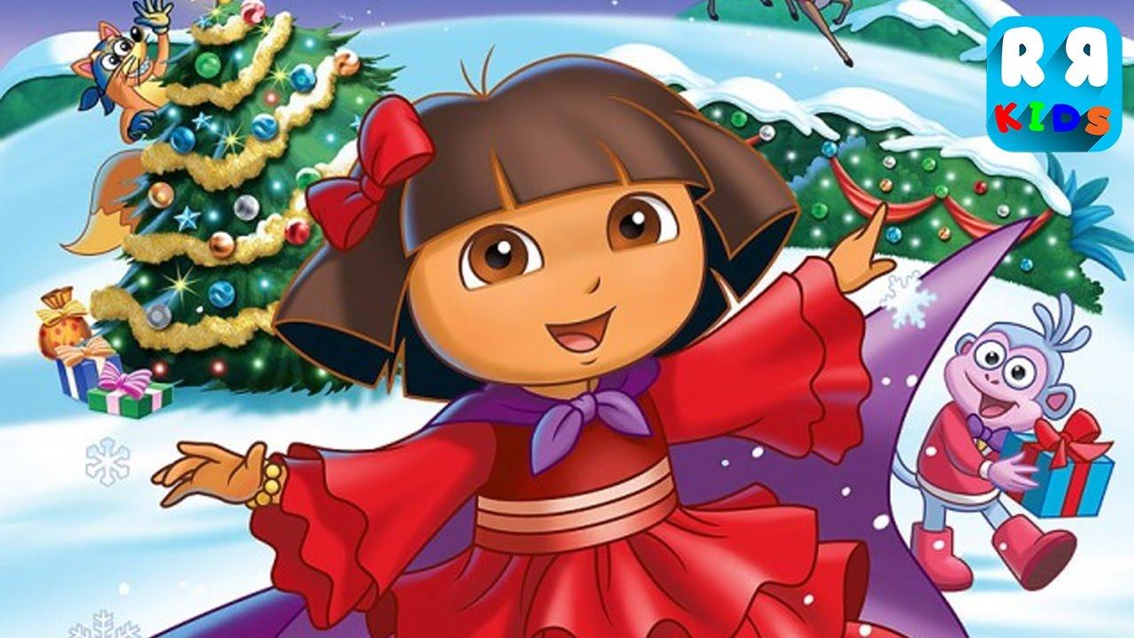 Dora's Christmas Carol Adventure (By Nickelodeon) - Full Gameplay ...