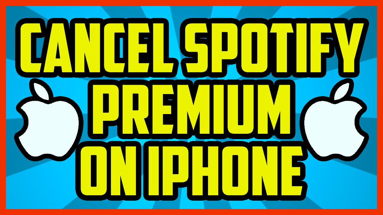 spotify cancel premium trial