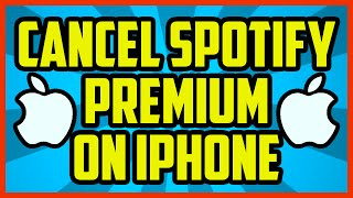 How Cancel Spotify Premium Iphone Quick Easy