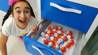 Surprise egg seek play, Sıcak soğuk oynadık - Fun video for kids