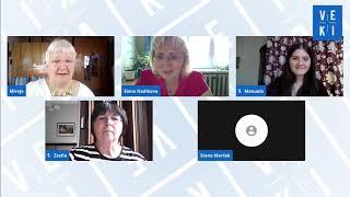2020 VEKI: Podia diskuto pri Juna Amiko