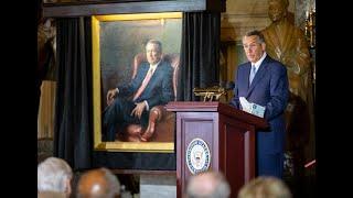 Portrait Unveiling For John Boehner, 53rd Speaker Of The House