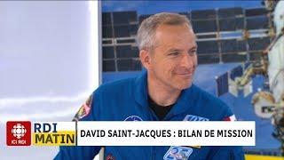 David Saint-Jacques : bilan de mission