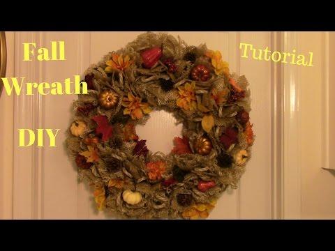 Fall Wreath DIY Tutorial  B363FBED C980 4F4E 8ECC 674AFA59217D