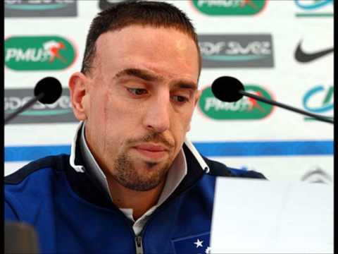 Frank Ribery insulte ouvertement reymond domenech