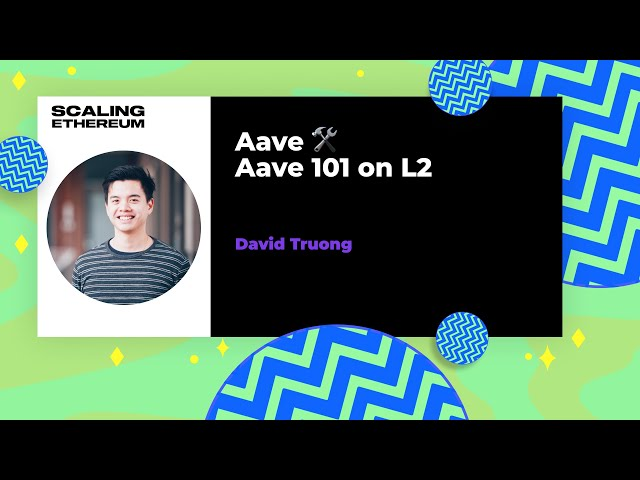Aave 101 on L2