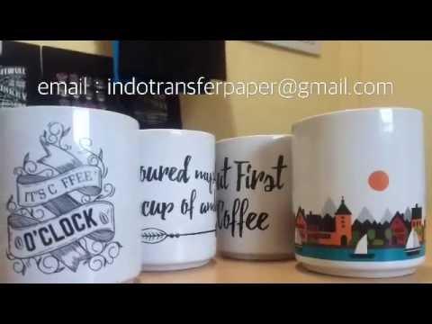 Tutorial Mug Transfer Paper Indonesia