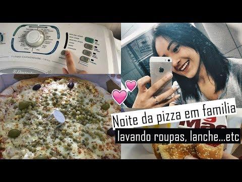 BANHO NO PET E NOITE DA PIZZA EM FAMÍLIA