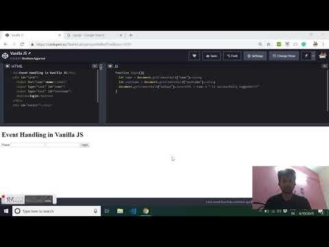 Event handling in JavaScript thumbnail