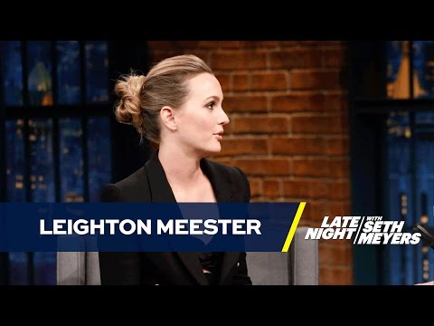 Leighton Meester Doesn't Wish Colonial Garb Upon Anyone