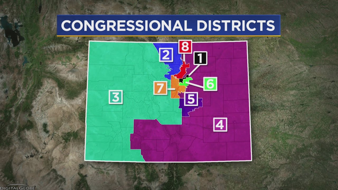 The Latest Draft Maps Of Colorado's State Legislative Districts ...