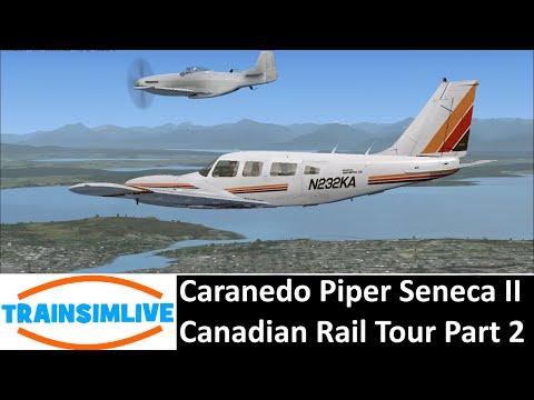 Flight Simulator X: Steam Edition - Canadian Rail Tour Pt 2