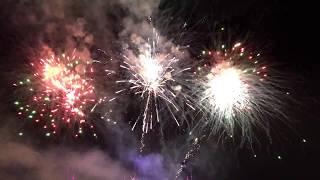 BAPS Swaminarayan Temple Atlanta Diwali fireworks HD 2017