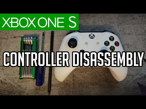 Xbox One S Controller Disassembly 2016