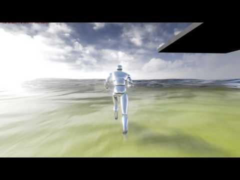 ue4 ocean water shader WIP