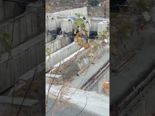तपोवन एनटीपीसी डैम का, आपदा आने के पहले का वीडियो