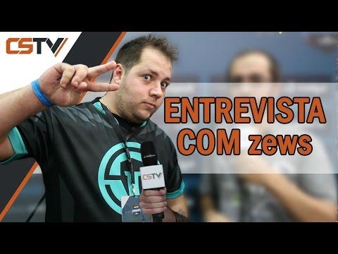 """ENTREVISTA - Wilton """"zews"""" Prado (Finais ESL Pro League São Paulo)"""
