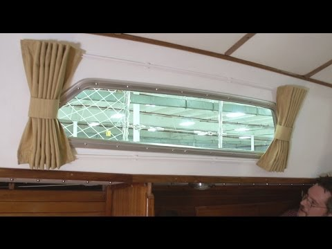 how to make boat interior curtains youtube