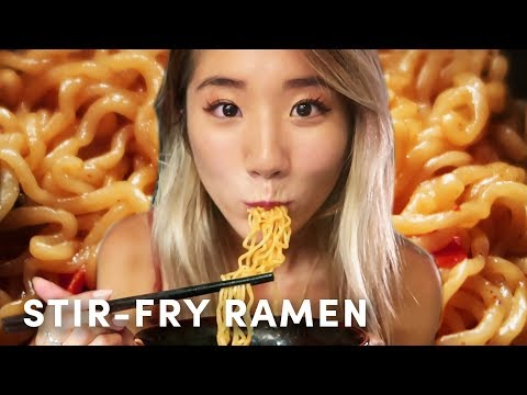 STIR-FRY RAMEN RECIPE | YB Chang