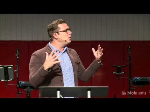 Thaddeus Williams: God Helps Those Who Can't Help Themselves - Biola University Chapel