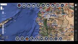 Карта боевых действий в Сирии 06 10 2015 (ОБЗОР)