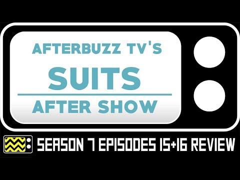 Suits Season 7 Episodes 15 & 16 Review & Reaction | AfterBuzz TV