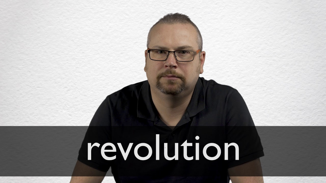 How to pronounce REVOLUTION in British English
