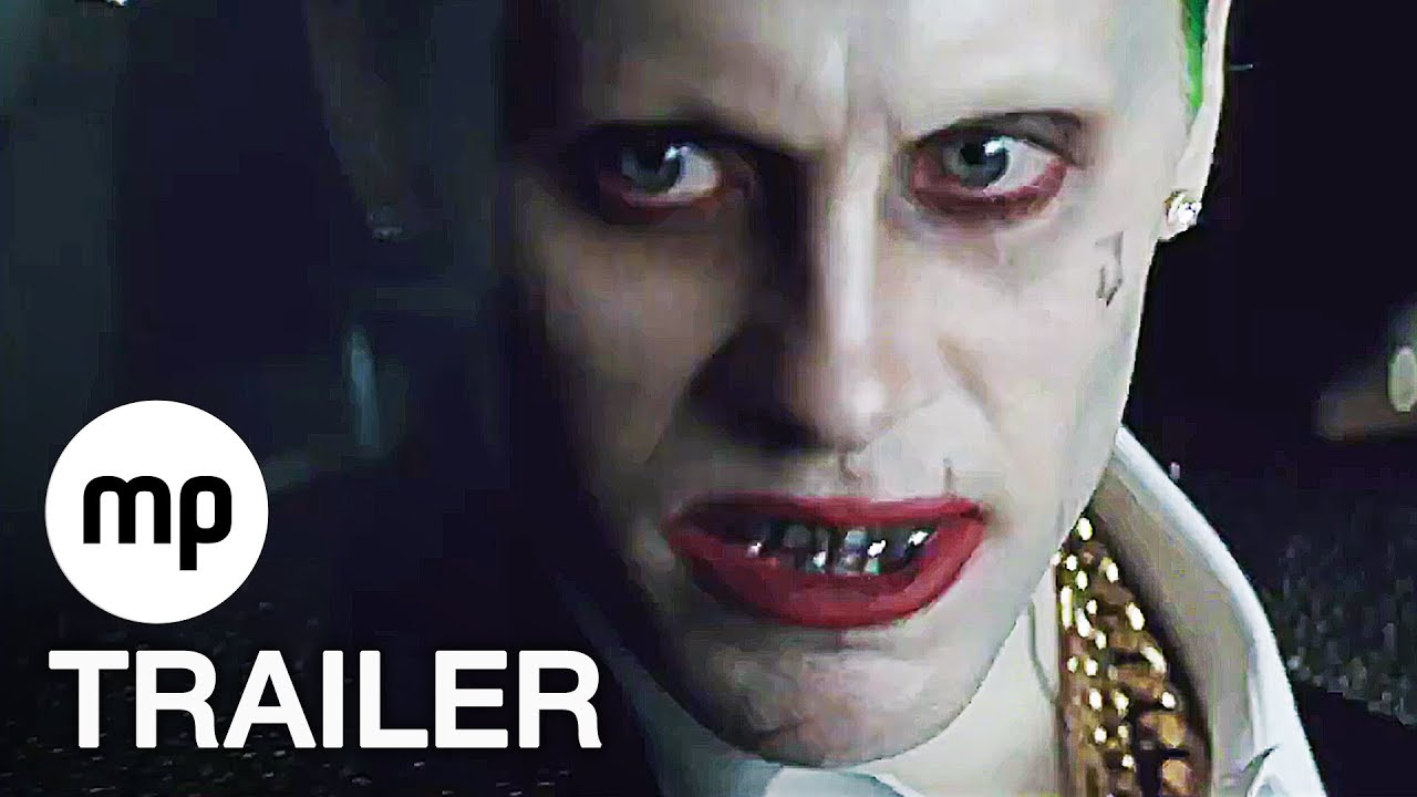 Joker Metallschrank Suicide Squad Trailer 2 German Deutsch 2016 Joker Harley Quinn