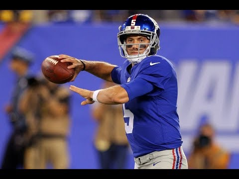 Davis Webb QB New York Giants game 1 preseason film review