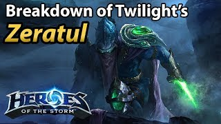 Breaking down Twilight's Zeratul. One of the most flashy Zeratul players around.