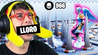 Pero esto qué es... PARKOUR **IMPOSIBLE** en FORTNITE!! (Código mapa parkour fortnite)