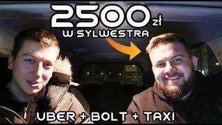 Praca w Sylwestra na aplikacjach Taxi: