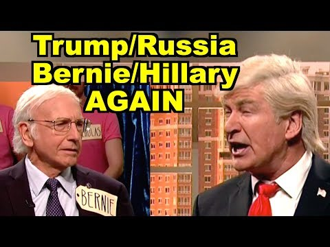 Trump/Russia, Bernie/Hillary AGAIN - Alec Baldwin, Larry David MORE! LV Sunday LIVE Clip Roundup 237